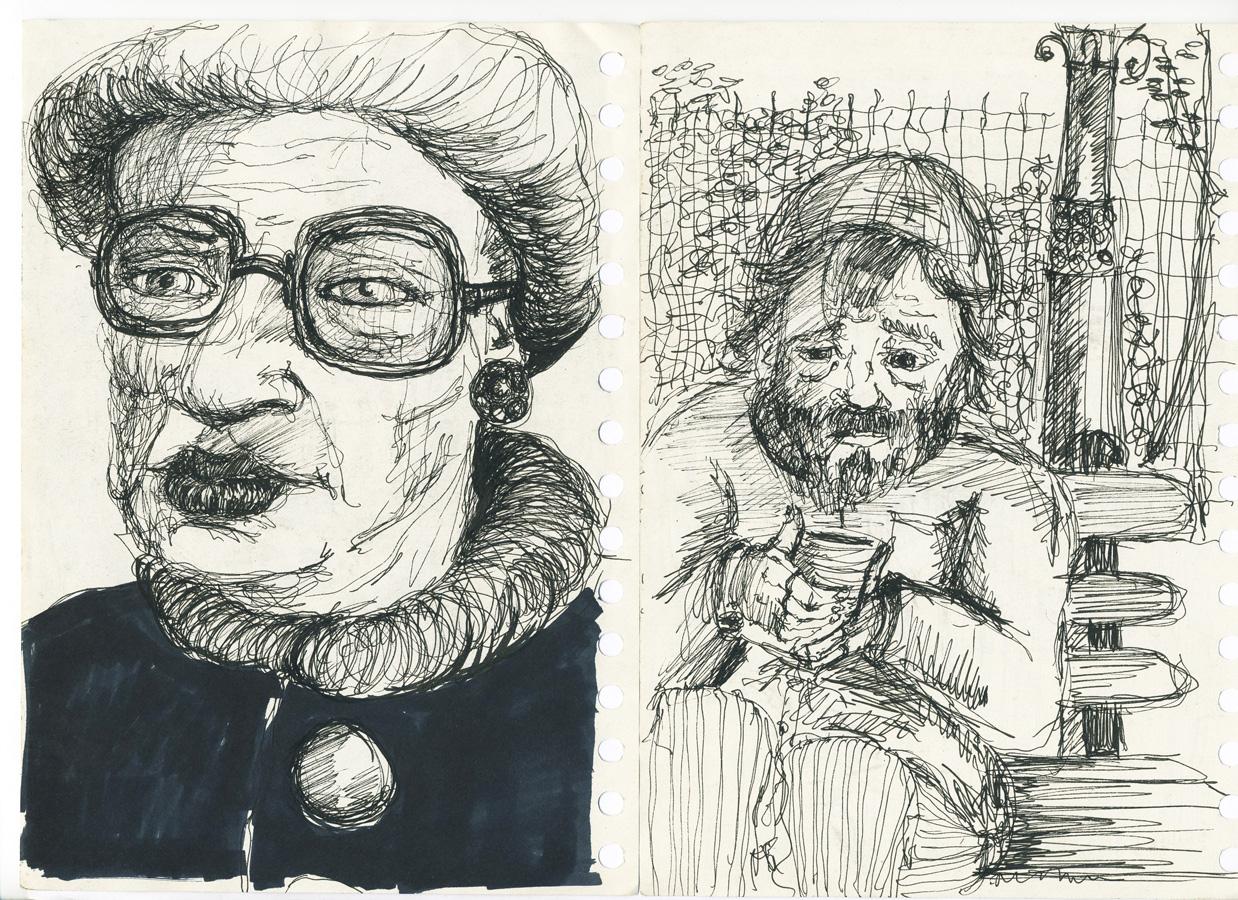 Personnes âgées - Stylo bille