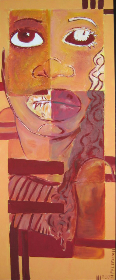 Acrylique -170 x 100 cm - VENDUE