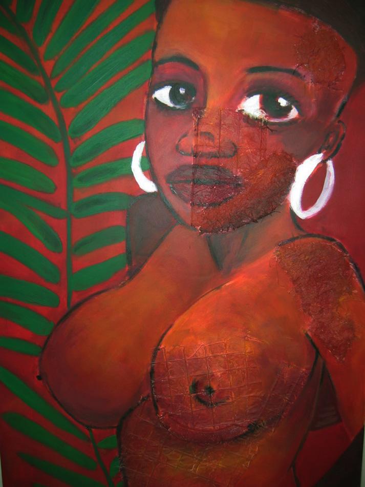 Acrylique - 120 x 100 cm - VENDUE