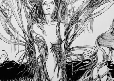 Arbolessence - feutre fin noir - 30 x 40 cm