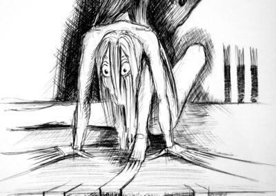 Maman j'ai peur dans le noir - Stylo bille -A4